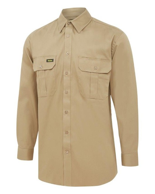 Cotton Drill Workshirts L/S
